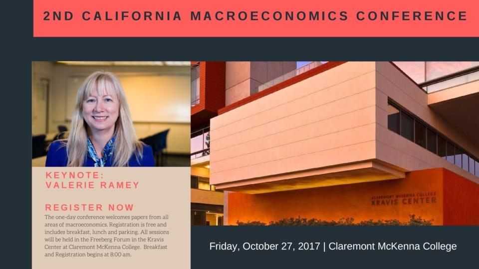Californiamacroeconomics conference