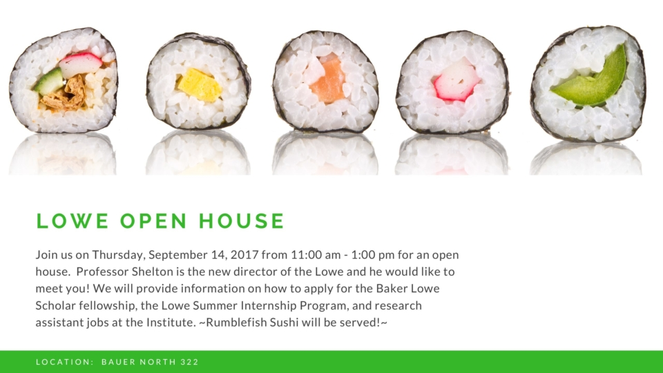 lowe open house