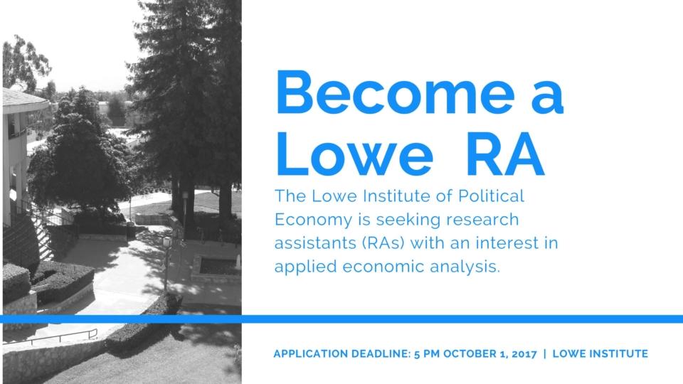 Become a Lowe RA