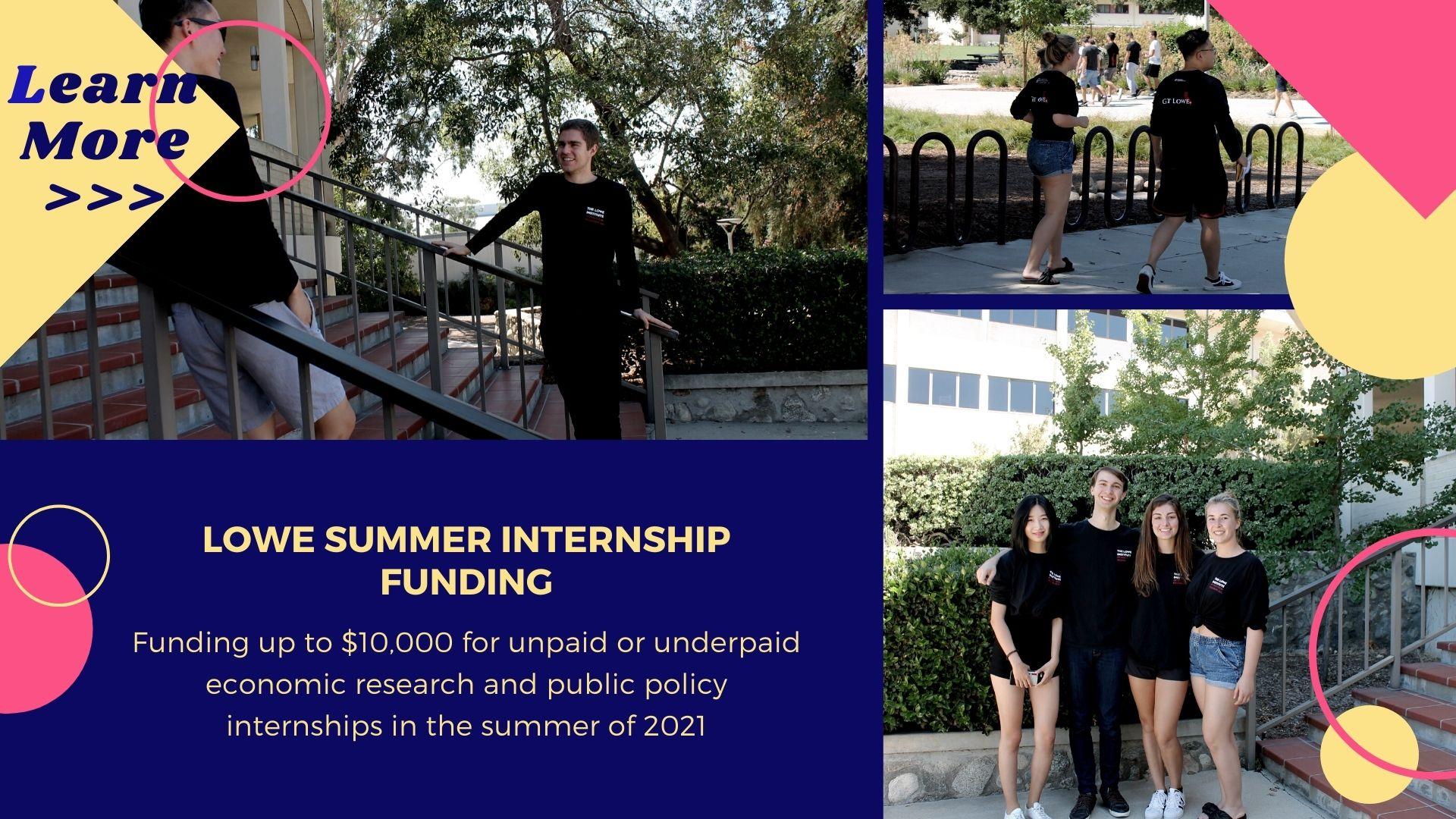 Lowe Summer Internship 2021